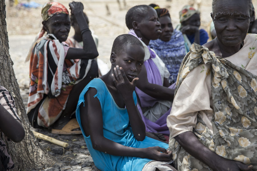 famine victims South Sudan