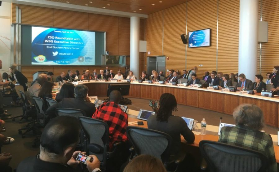 Blog: Tankers and rafts in the World Bank Spring meetings