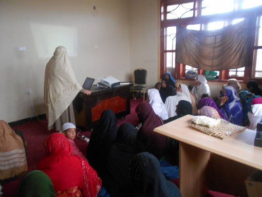 training for displaced women