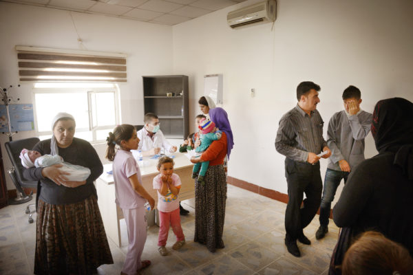 healthcare in north iraq