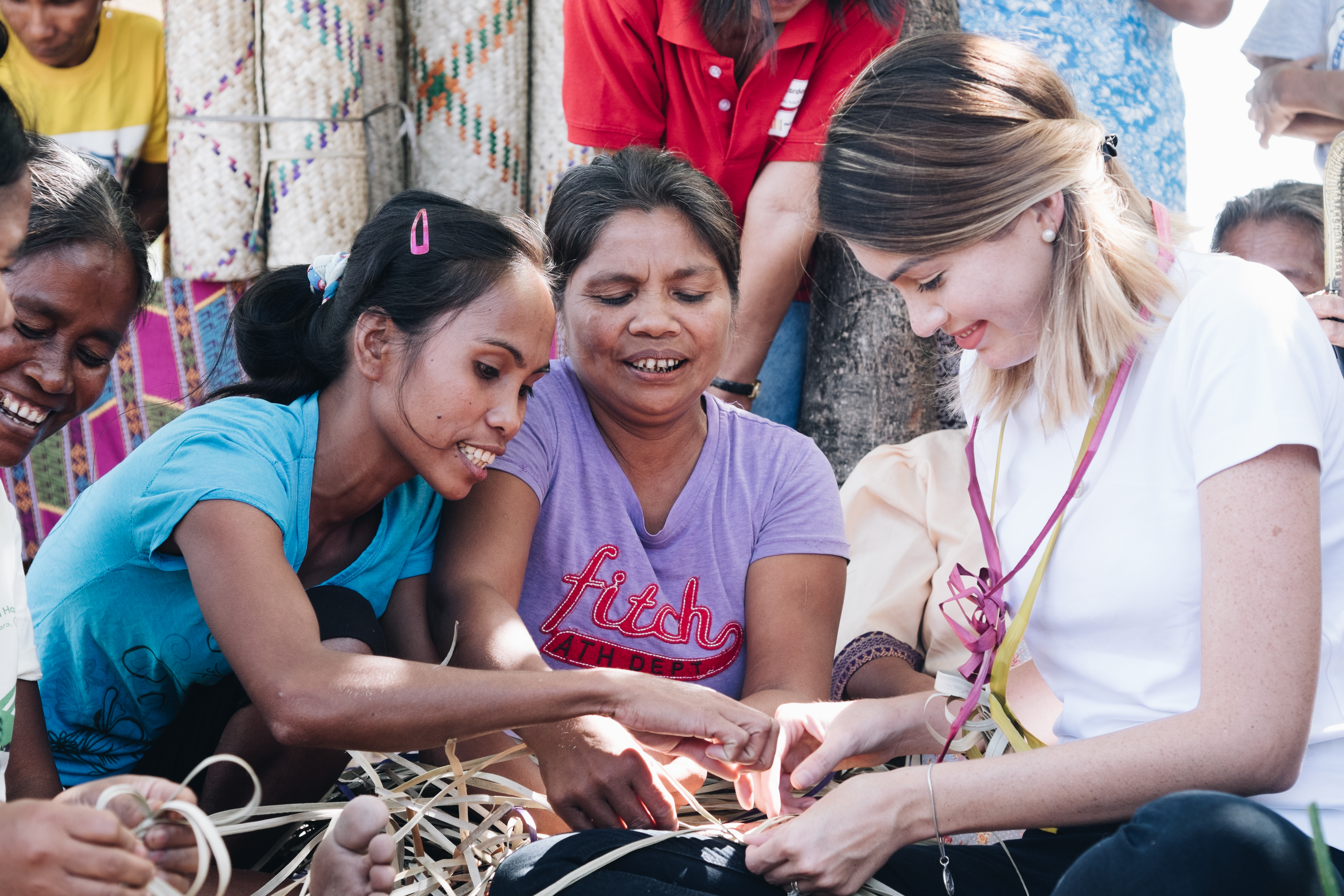 Miss Universe revisits Cordaid projects in the Philippines