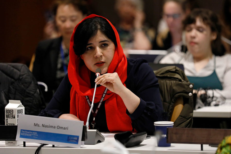 Afghan women claim role in peace process
