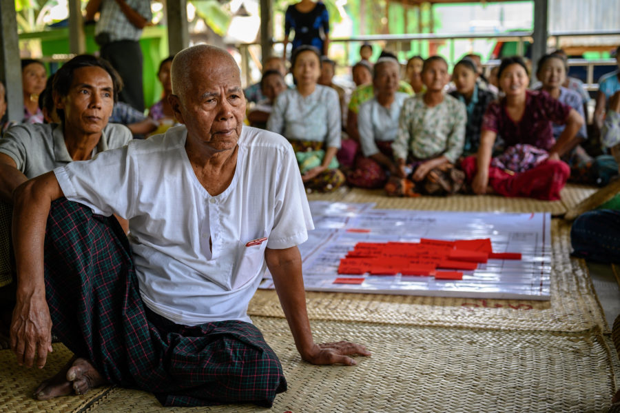 Flood resilience in Myanmar
