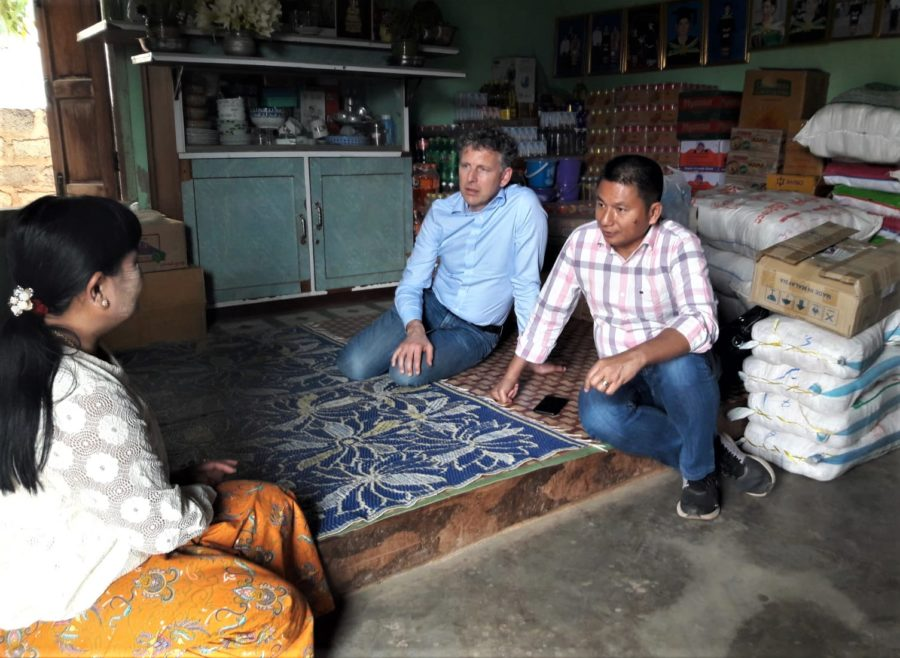 Supporting the growth of rural Myanmar - Cordaid International