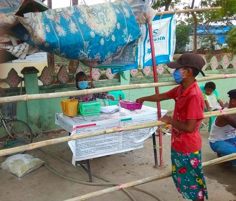 Adapting Myanmar Resilience Projects In Response To COVID