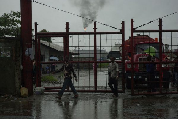 Oil refinery in Port Harcourt