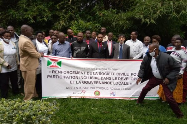 Civil society Burundi