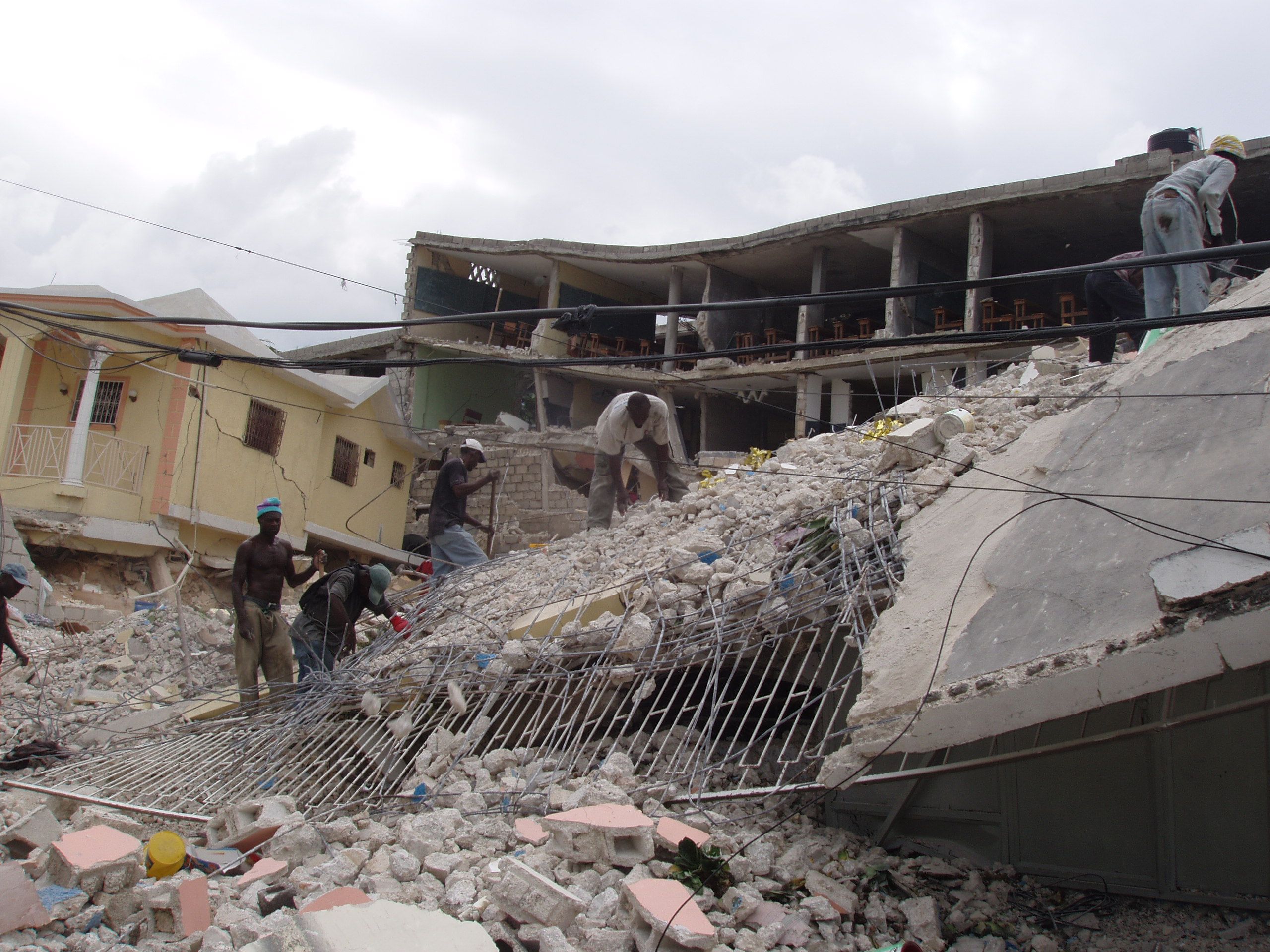 Haiti five years after the earthquake for Where to go in an earthquake