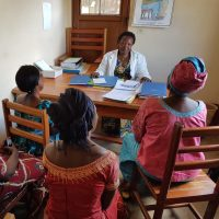 psycho social support for women living with HIV at the Muhungu health center