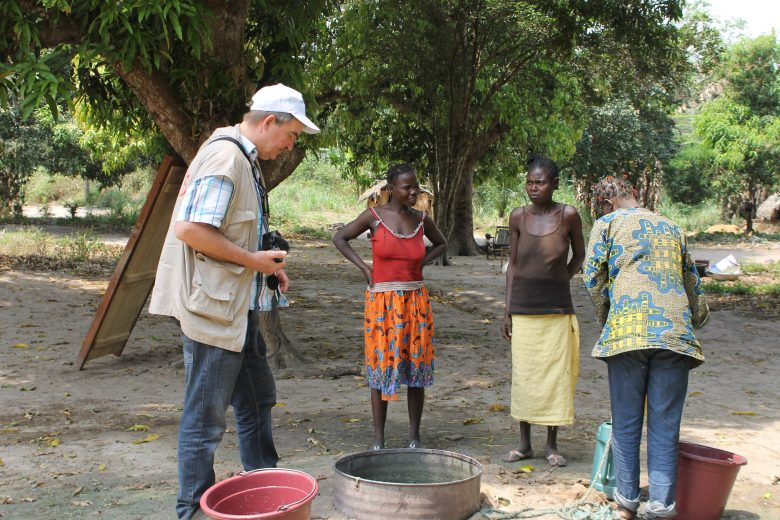 aid work in the Central African Republic