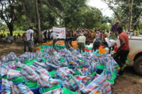 fast response for displaced families in CAR