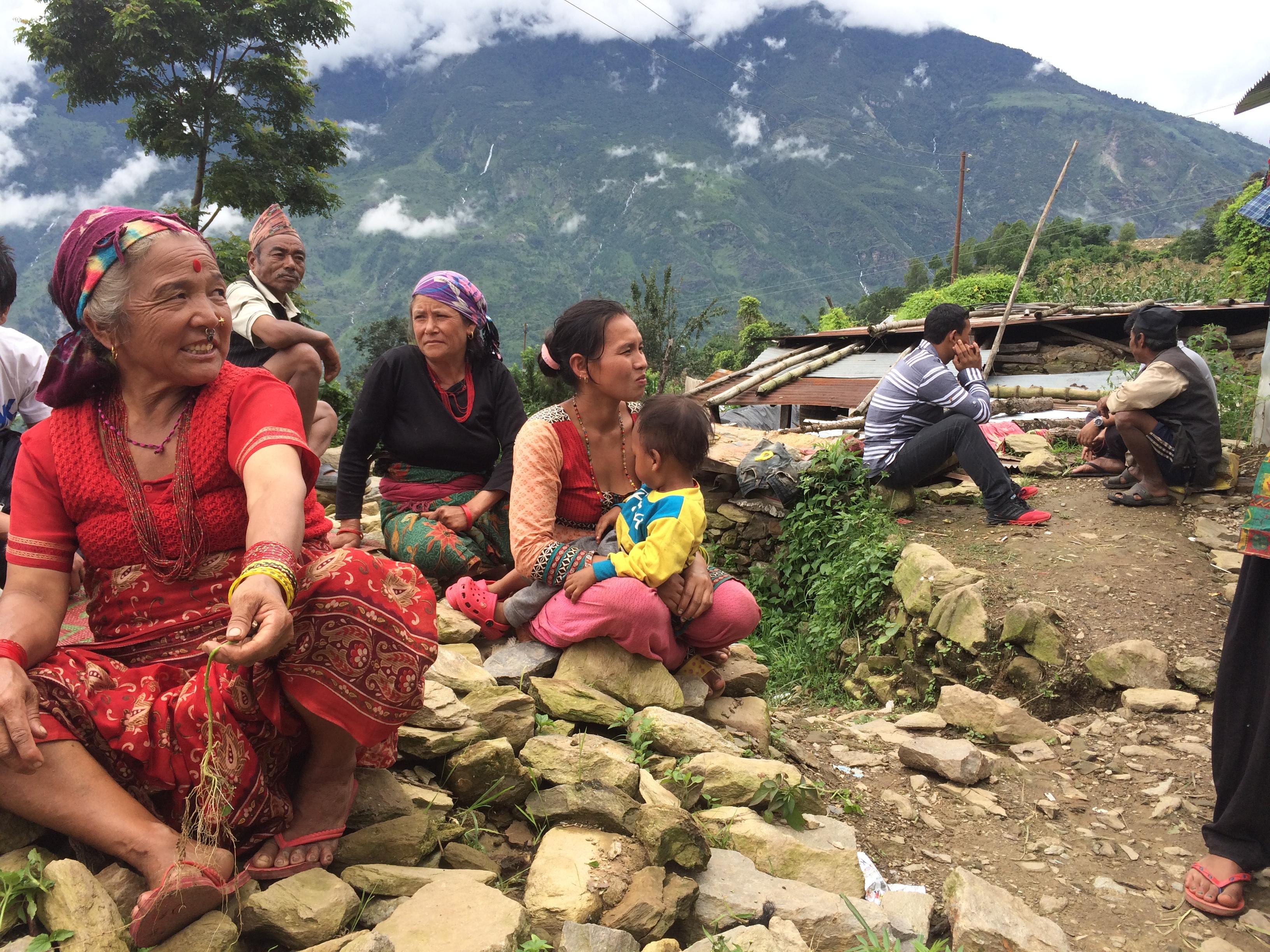 Aardbeving in Nepal