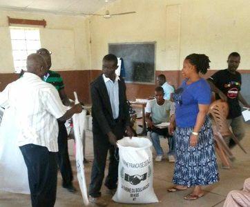 Voedseldistributie Sierra Leone