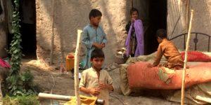 huisvesting ontheemde kinderen in Nangarhar