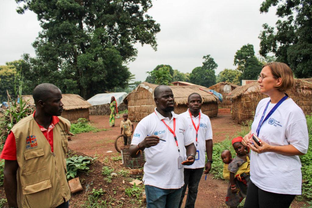 Hulp Centraal-Afrikaanse Republiek